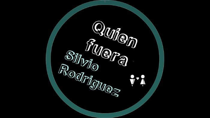 Quien Fuera Silvio Rodriguez By Kathy Millahual On Prezi