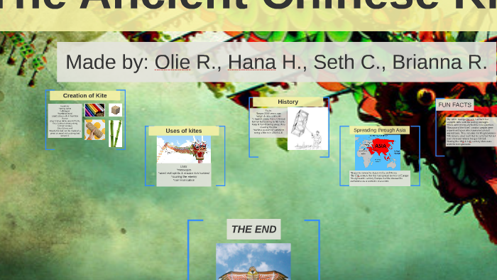 The Ancient Chinese Kite by oliver rhoades on Prezi