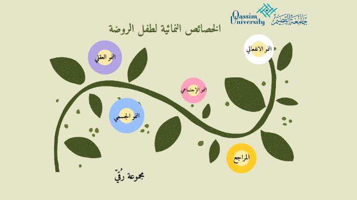 الخصائص النمائية لطفل الروضه By Shehanh Hamad