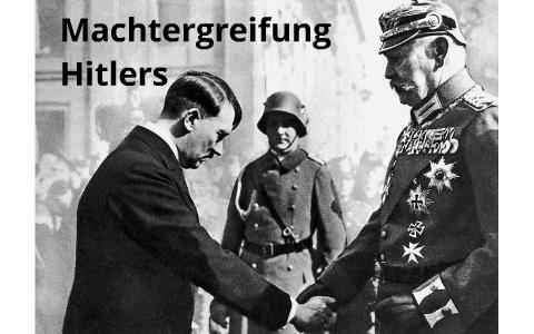 Machtübernahme Hitlers
