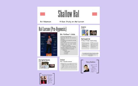 shallow hal hypnotist