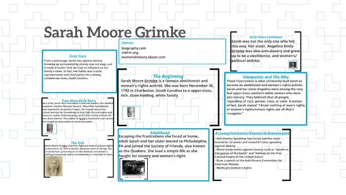 Sarah Moore Grimke by Chaya Wijewardane on Prezi