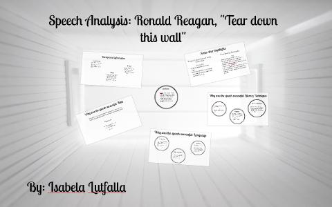 tear down this wall speech analysis