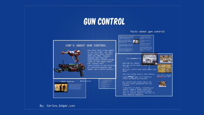 con gun control facts