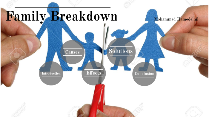 effects of family breakdown