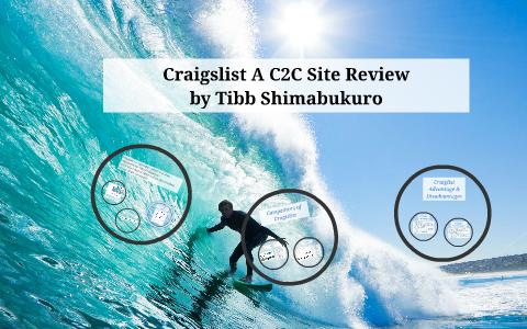 Craigslist a C2C Site Review by Tibb Shimabukuro on Prezi