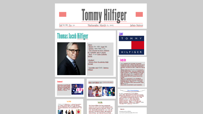 7033dd2610746d Tommy Hilfiger by Julien Makrai on Prezi