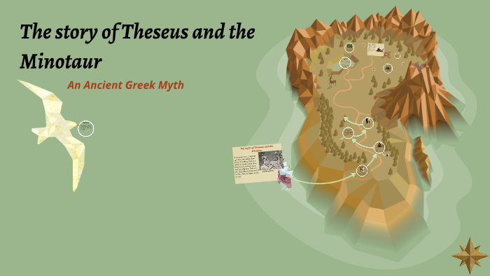 The Myth Of Theseus And The Minotaur By Elizabeth Mccullagh