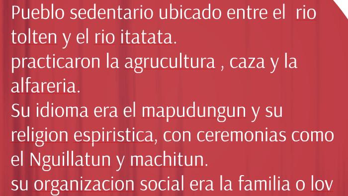Pueblos Originarios De Chile By Benjamin Antican Concha On Prezi