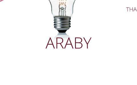 what does araby symbolize to the boy