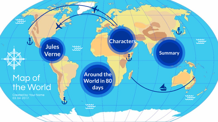 Around the World in 80 days by Claudia Rara on Prezi Next
