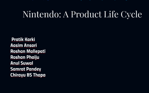nintendo product life cycle