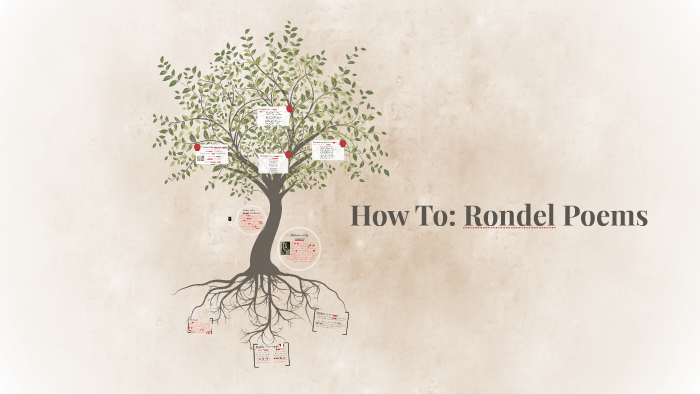 How To Rondel Poems By Tayah C On Prezi