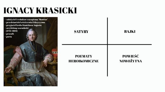 Twórczość Ignacego Krasickiego By Karolina Krok On Prezi Next
