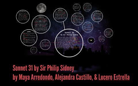 sonnet 31 sir philip sidney
