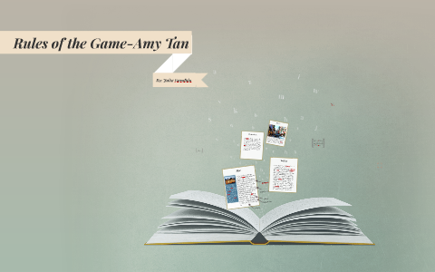 rules of the game amy tan setting
