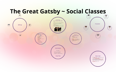 why is social class important in the great gatsby