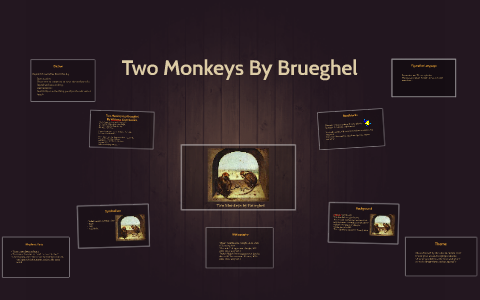 two monkeys by brueghel