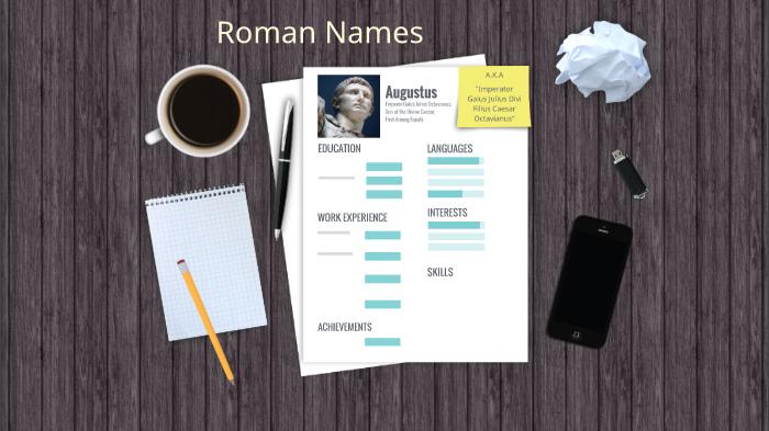 Roman Names by Kristen Roper on Prezi Next