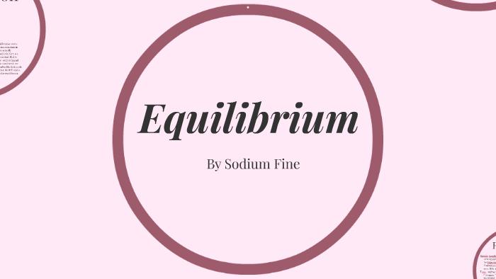 Equilibrium by Veda Shree on Prezi