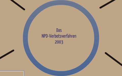 Npd Verbotsverfahren 2003