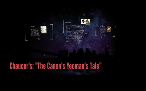the yeomans tale