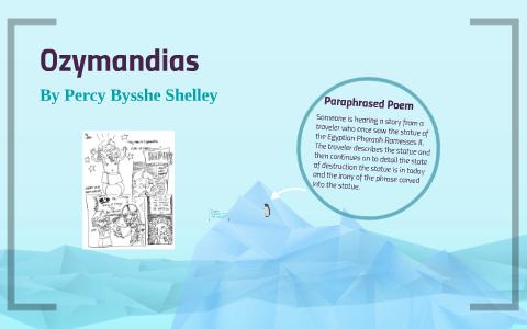 ozymandias poem meaning line by line