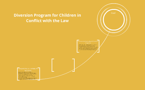 Diversion Program for Children in Conflict with the Law by Rhea Ann