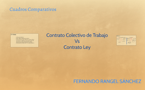 Cuadros Comparativos By Fernando Rangel On Prezi