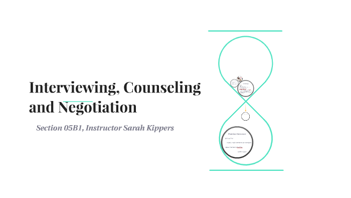 Interviewing, Counseling and Negotiation by Sarah Kippers on