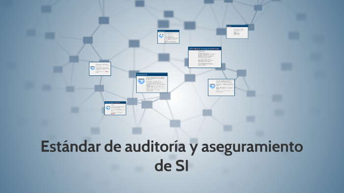 Estandar de auditoria y aseguramiento de SI by michael collazos
