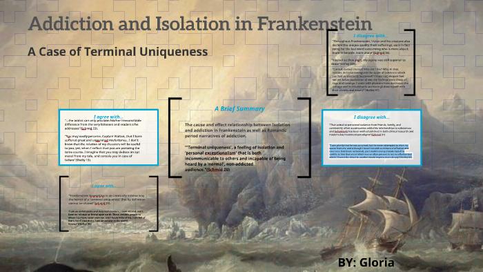 isolation in frankenstein