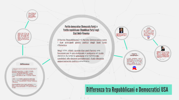 Differenza Tra Repubblicani E Democratici Usa By Leonardo Ferronato