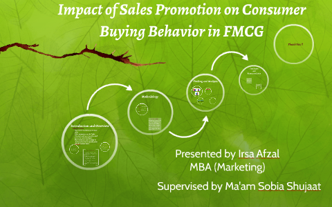 impact of sales promotion on consumer behaviour