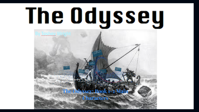 major characters in the odyssey