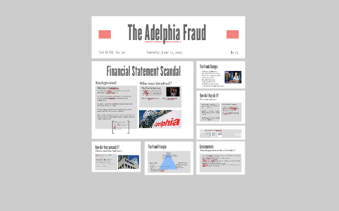 adelphia communications corporation scandal