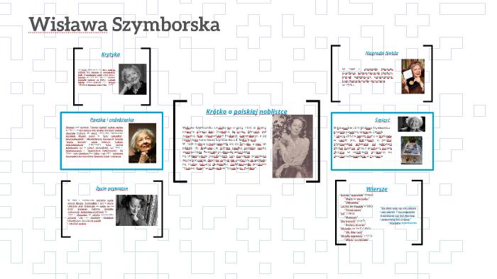 Wisława Szymborska By Piotr Porańczyk On Prezi
