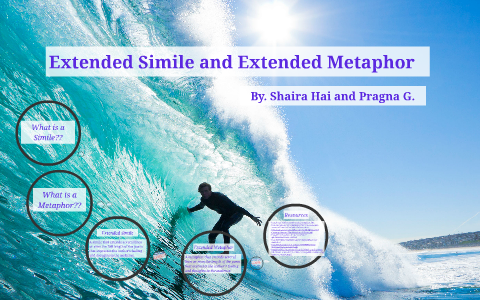 Extended Simile and Extended Metaphor by Shaira Hai on Prezi