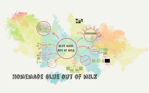 glue out of milk