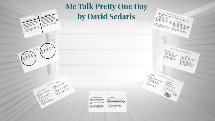 me talk pretty one day david sedaris pdf