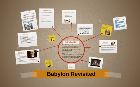 fitzgerald babylon revisited summary