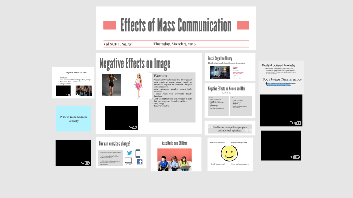 social effects of mass communication