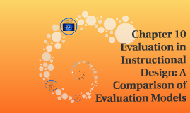 Chapter 10 Evaluation In Instructional Design A Comparison By Jessica Chin