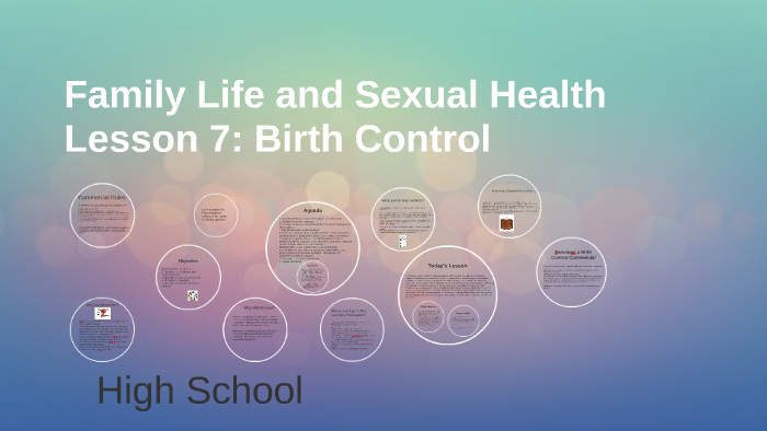 Family Life And Sexual Health Curriculum
