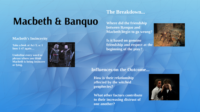 what is the relationship between macbeth and banquo