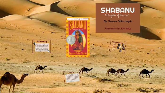 shabanu daughter of the wind summary