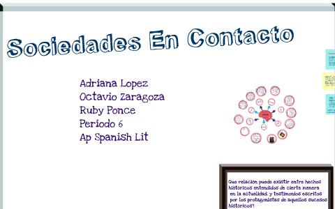 Sociedades En Contacto By