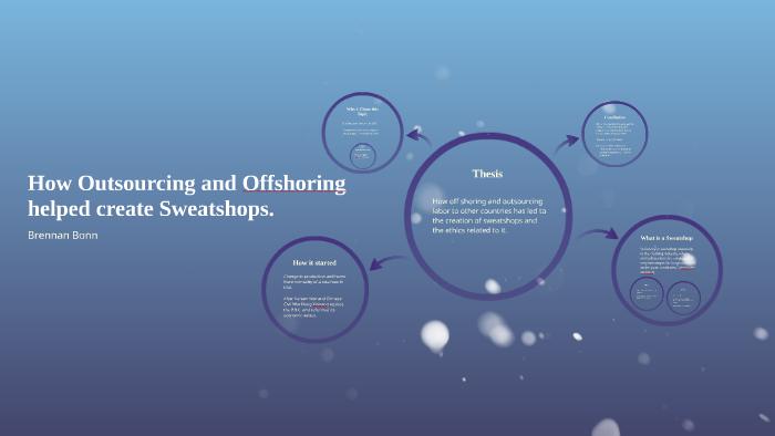 outsourcing sweatshops