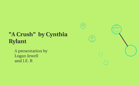 a crush by cynthia rylant theme