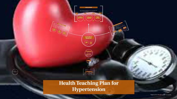 Health Teaching Plan for Hypertension by vallelyn samonte on Prezi